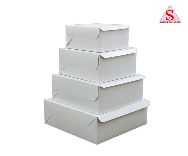 Cake Boxes by Swiss Packaging Ltd