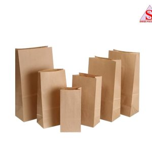 khaki packaging bags