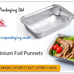 aluminium food punnets